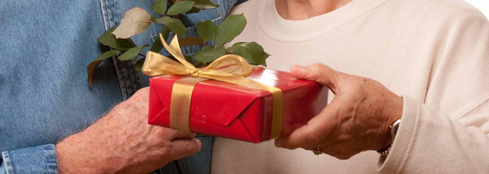 Vánoční dárky pro babičku a dědu