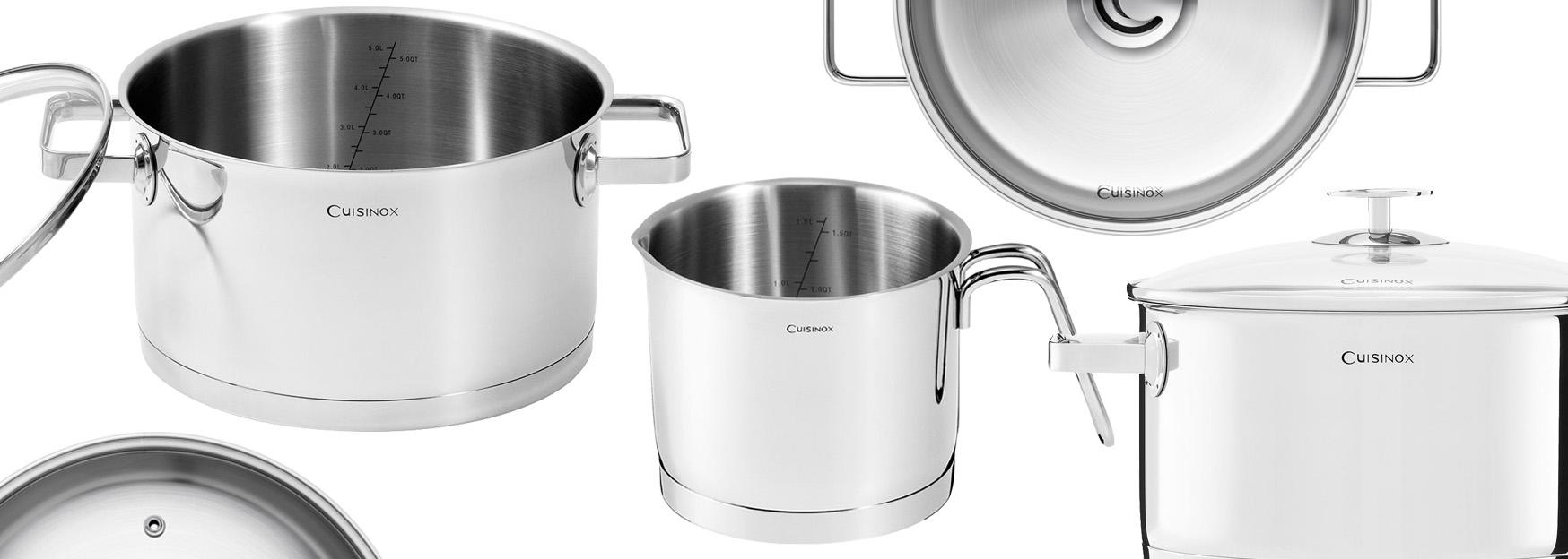 Cuisinox nerezové nádobí