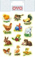 Velikonoční obtisky na vajíčko OVO tradiční
