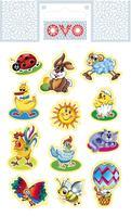 Velikonoční obtisky na vajíčko OVO moderní