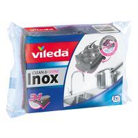Houbička VILEDA Inox 2ks