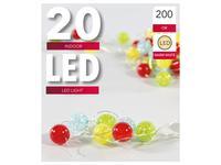 Vánoční světelný řetěz 20 LED kuličky
