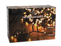 Vánoční světelný řetěz 700 LED IP44 14m s časovačem