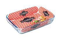 Skleněný pekáč OCUISINE 39x24cm/3,6l., borosilikát