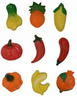 Magnetky ovoce, zelenina - 9 ks