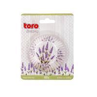 Papírové formičky na muffiny TORO 60ks levandule