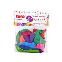 Balónky pastelové TORO 23cm 20ks