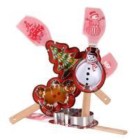 Stěrka a vykrajovátko, assort vánočních motivů