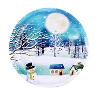 Podnos vánoční, kulatý, pr. 24,2 cm, assort