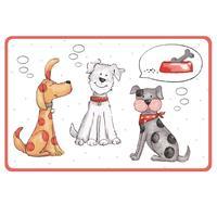 Plastové prostírání TORO 44x28,5cm Kočka a Pes