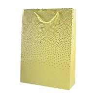 Taška dárková, papír, velká, assort 4 barev