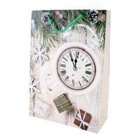 Papírová vánoční dárková taška TORO 44x31x12c...
