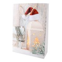 Papírová vánoční dárková taška TORO 44x31x12cm assort