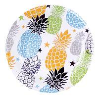 Papírový party talíř 20cm TORO 6ks, ananas