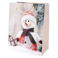 Papírová vánoční dárková taška TORO 55x40x15cm assort