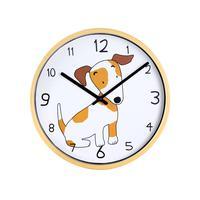 Nástěnné hodiny TORO 25,5cm pes/slon