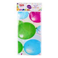 Plastový party ubrus TORO 130x180cm balónky