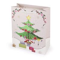 Papírová vánoční dárková taška TORO 23x18x10cm assort