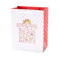 Papírová vánoční dárková taška TORO 15x14,5x6m assort