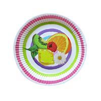 Papírový party talíř 20cm TORO 6ks Olala letní mix