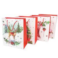 Papírová dárková taška TORO 44x31x12cm vánoční MIX