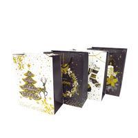 Papírová dárková taška TORO 32x26x12cm vánoční MIX