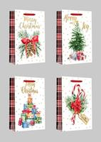Papírová dárková taška TORO 32x13x9cm vánoční MIX