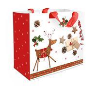 Nákupní taška TORO 43x37x21,5cm vánoční sob