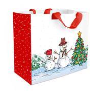 Nákupní taška TORO 43x37x21,5cm sněhulák