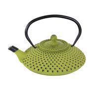 Litinová konvice na čaj TORO 1,25l zelená