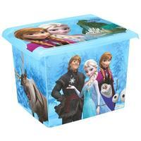 Plastový úložný box s víkem Ledové království 20l