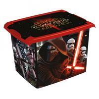 Plastový úložný box s víkem Star Wars 20l