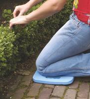 Zahradní podložka pod kolena, modrá