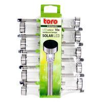 Solární venkovní LED světlo TORO 10ks
