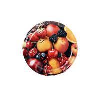 Víčko Twist na zavařovací sklenice 10ks, 82mm, motiv ovoce