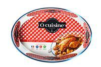 Skleněný pekáč OCUISINE 39x27/4l., borosiliká...