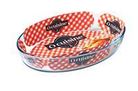 Skleněný pekáč OCUISINE 39x27/4l., borosilikát