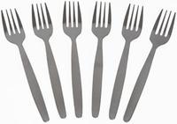 Nerezová jídelní vidlička TORO Scandinavia 6ks