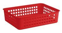 Košíček plastový, červený