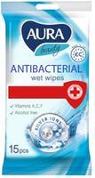 Ubrousky vlhčené, antibakteriální