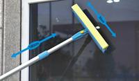 Stěrka na okna s teleskopickou násadou TORO