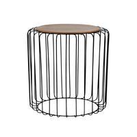 Dřevěný odkládací stolek TORO 35x46cm