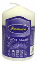Neparfemovaná svíčka PROVENCE 8cm bílá