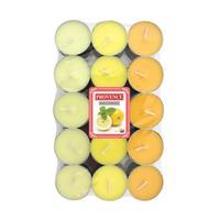 Čajová svíčka PROVENCE 30ks citrón