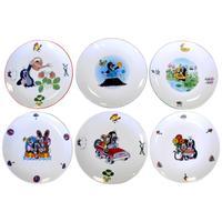 Porcelánový talíř THUN krtek 20,8cm