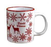 Keramický hrnek TORO 320ml vánoční jelen