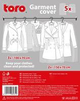 Ochranný vak na oděv, 5 ks