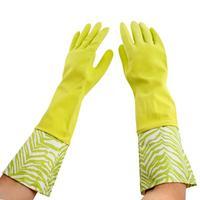 Latexové rukavice TORO dlouhé