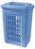 Plastový koš na špinavé prádlo TONTARELLI 60l modrý