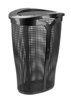 Plastový koš na špinavé prádlo TONTARELLI Ingrid 45l černý